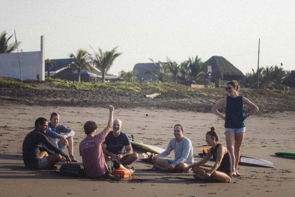 Beach Lesson in Guatemala