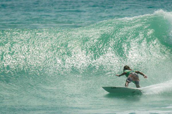 Bottom turn Costa Rica