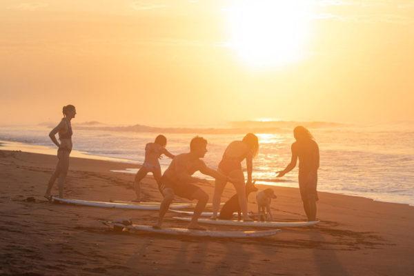 Guatemala Beach Lesson Sunset