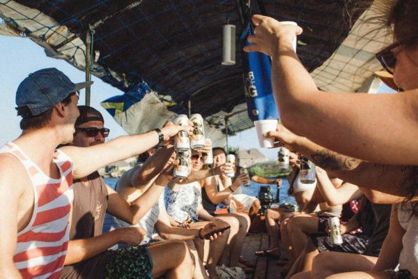 Guatemala Boat Trip Beers