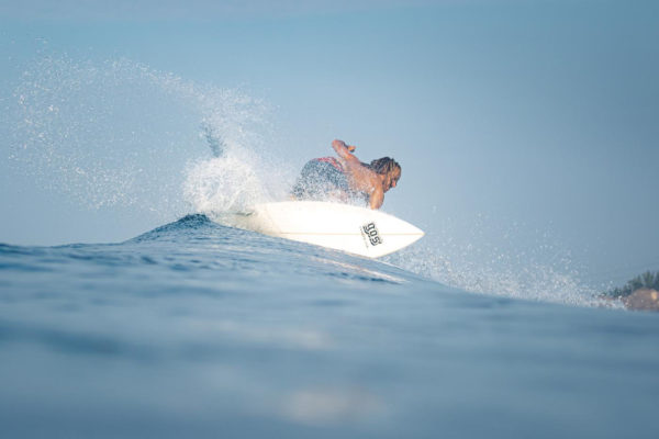 Guatemala Top Turn Surfing