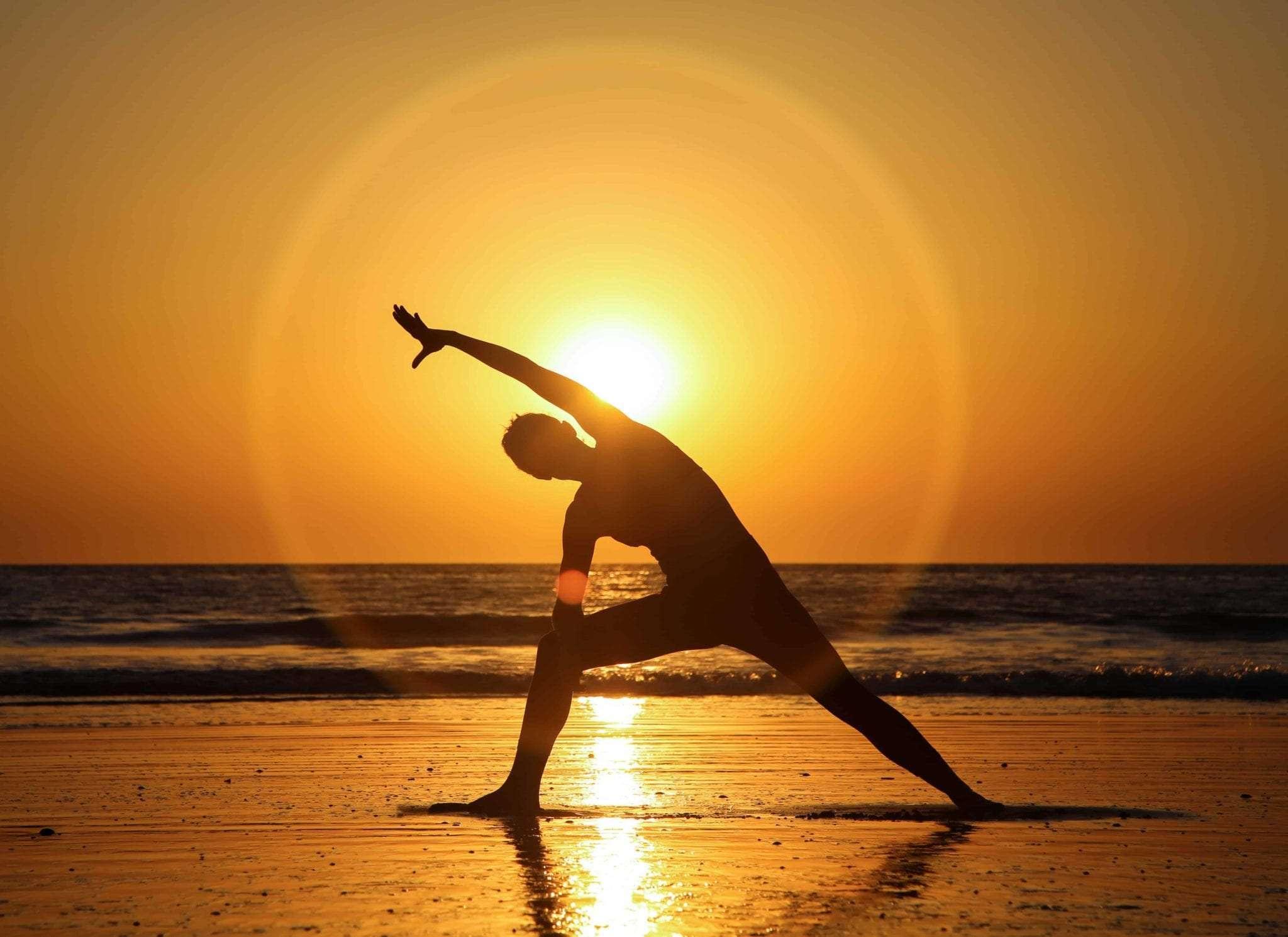 Halo Sunset Yoga