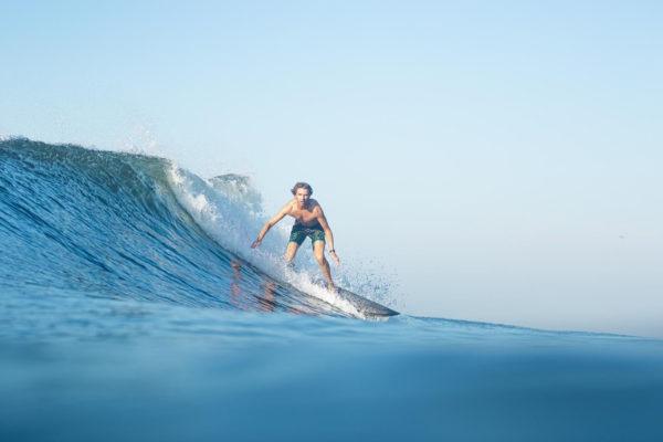 Matt Surfing - Guatemala