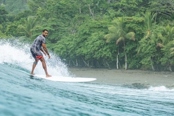 Phil on a longboard - Costa Rica
